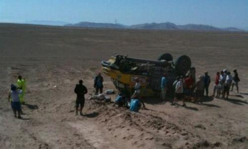 c8252bfbae Informaci o problémech Lopraise v nejdelší rychlostní zkoušce letošního  Dakaru o délce 556 kilometrů přinesl týmový web.